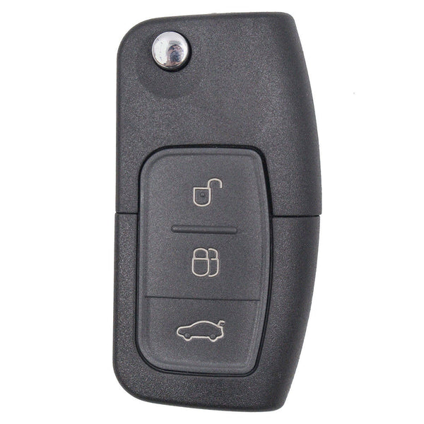 3 Buttons Car Remote Key Replacement 433.92MHz for Ford, Focus, Fiesta, Mondeo, S-MAX 10pcs/set - VXDAS Official Store