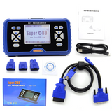 SuperOBD SKP-900 V5.0 Hand-Held OBD2 Auto Key Programmer No Token Limited Support Update Online For Free - VXDAS Official Store
