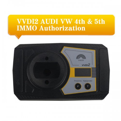 AUDI VW 4th & 5th IMMO Functions Authorization Service for VVDI2 Commander Programmer - VXDAS Official Store