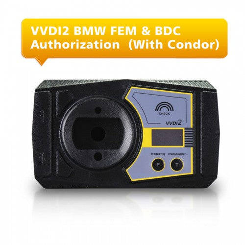 BMW FEM & BDC Functions Authorization Service for VVDI2 With Ikeycutter Condor - VXDAS Official Store