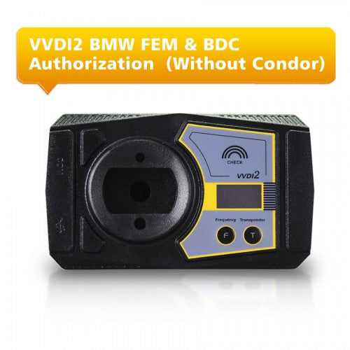 BMW FEM/BDC Functions Authorization Service for VVDI2 (Without Condor) - VXDAS Official Store
