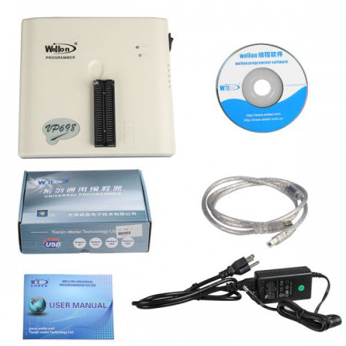 Original Wellon VP-698 Universal Programmer Multi-language VP 698 Programmer Update Online - VXDAS Official Store