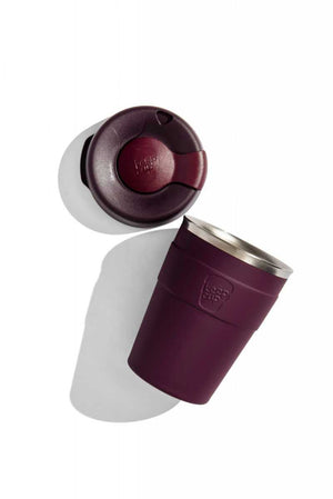 Thermal Deep Purple KeepCup, Alder stainless-steel reusable cup 340ml