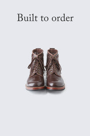 BUILT TO ORDER - AB-02 STEERHIDE LACE-UP BOOTS
