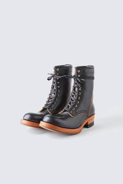 AD-S-02 STEERHIDE LACE-UP BOOTS