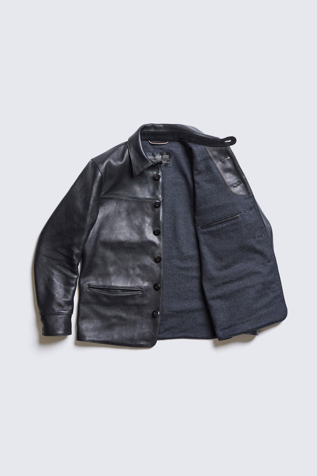 ACV-LJK02 SHEEPSKIN CAR COAT