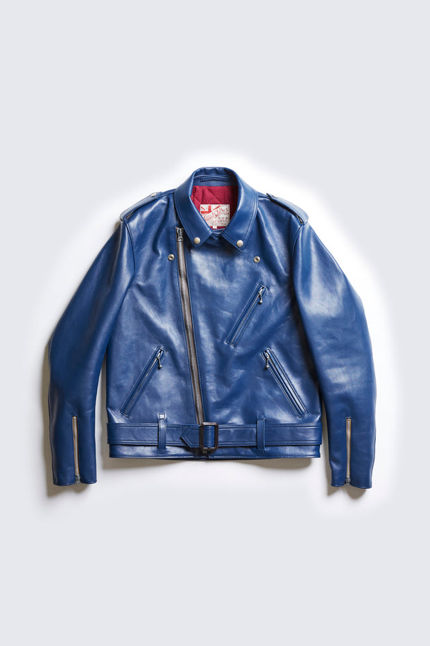 BUILT TO ORDER - AD-06 HIGHWAYMAN JACKET (BLUE DEER)