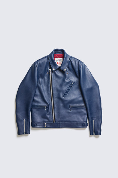 BUILT TO ORDER - AD-03 BRITISH ASYMMETRY JACKET (BLUE DEER)