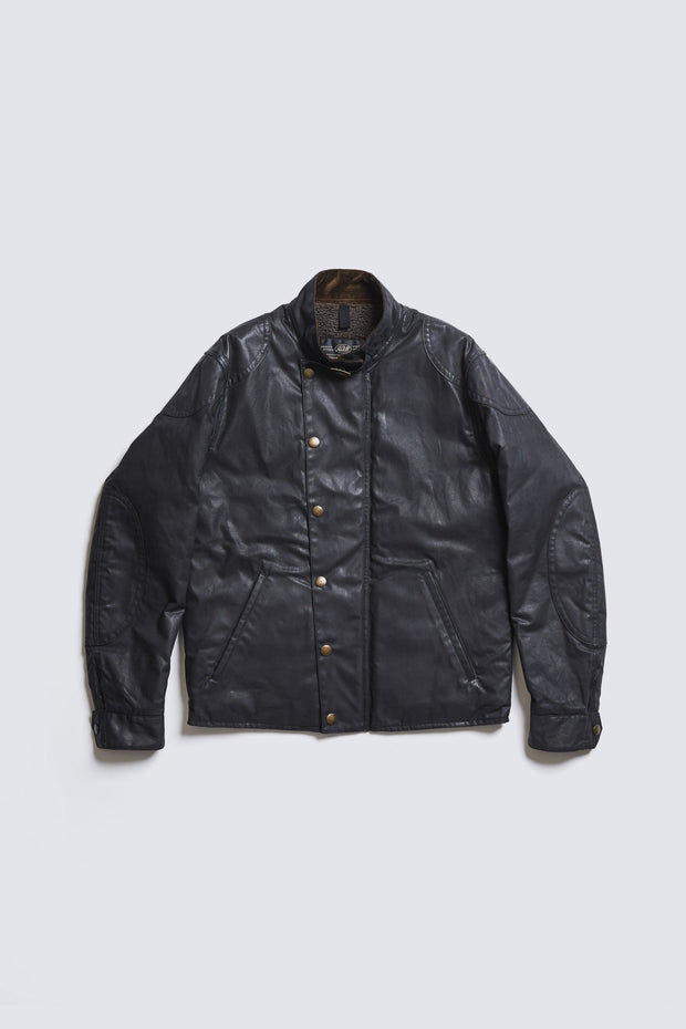ACV-WX04 WAXED COTTON ULSTER JACKET
