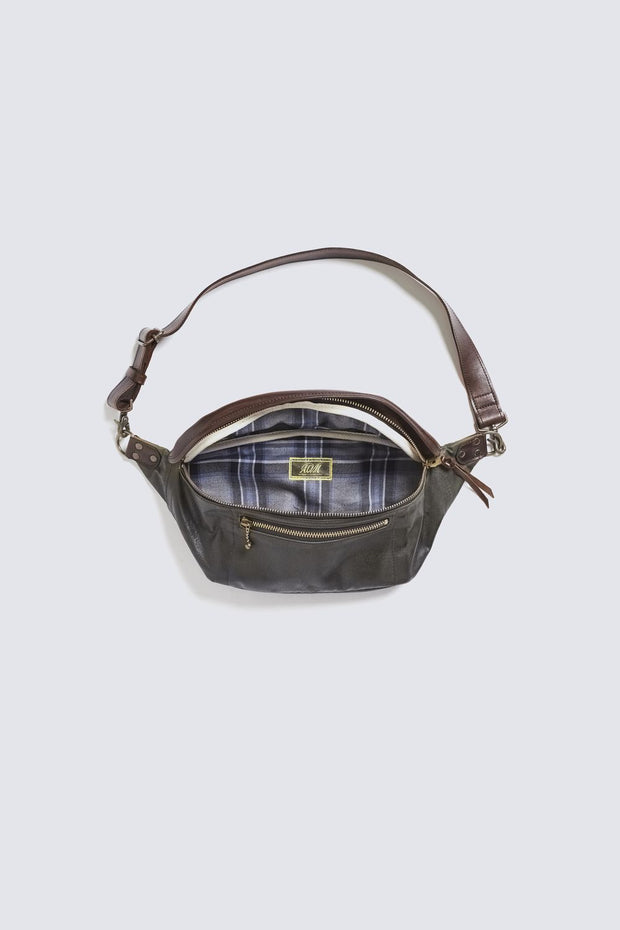 ACV- BG03 WAXED COTTON WAIST BAG