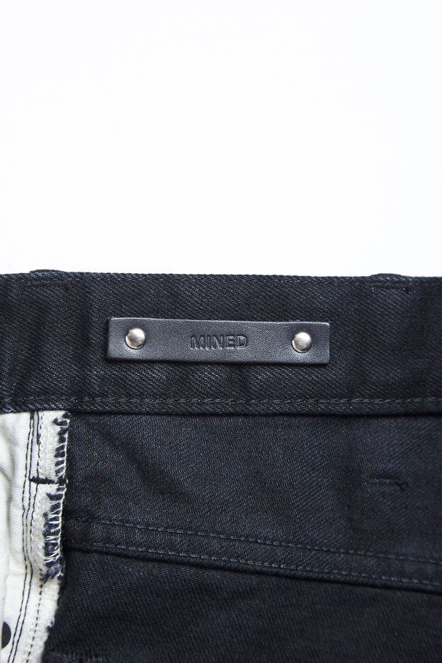ACV-P02MD TIGHT TAPERED STRETCH DENIM