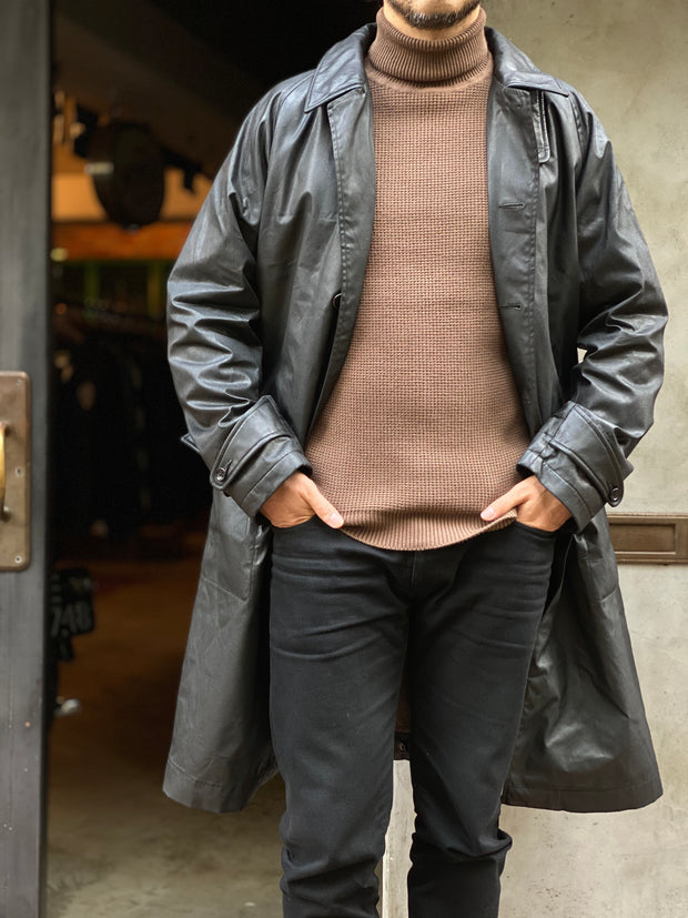 ACV-WX05 WAXED COTTON SINGLE DISPATCH COAT