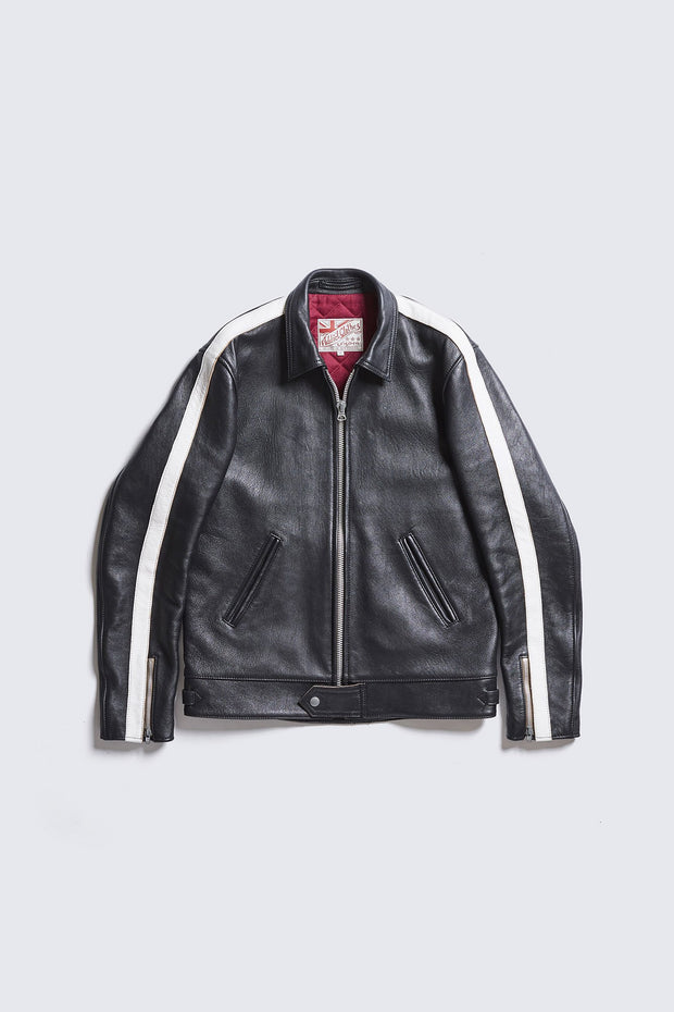 AD-01SS CENTER-ZIP JACKET SINGLE STRIPE (SHEEP)