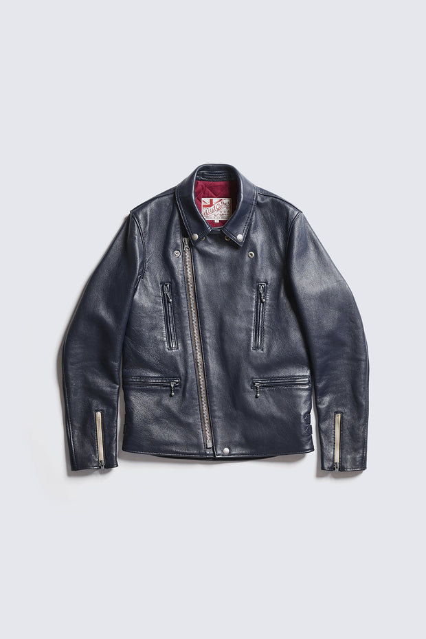 BUILT TO ORDER - AD-02L  DOUBLE RIDERS JACKET (LONG TYPE) (SHEEP)