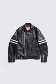 AD-03CS BRITISH ASYMMETRY JACKET CIRCLE STRIPE (SHEEP)
