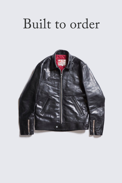 BUILT TO ORDER - AD-01 CENTER-ZIP JACKET (HORSE)