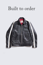 BUILT TO ORDER - AD-01SS CENTER-ZIP JACKET SINGLE STRIPE (SHEEP)
