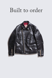BUILT TO ORDER - AD-02L  DOUBLE RIDERS JACKET (LONG TYPE) (HORSE)