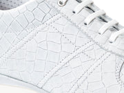 EARTH-LINE SEASHELL WHITE CROCO / SILVER