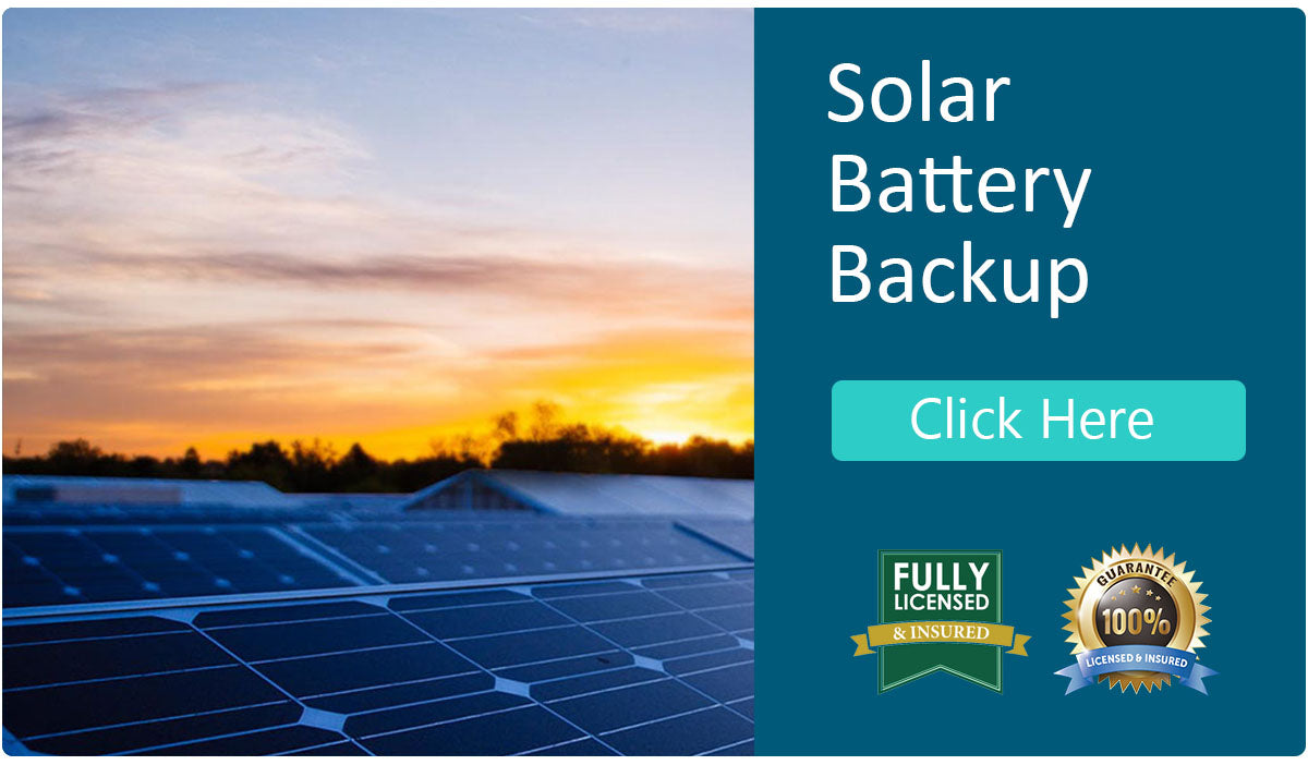 Services from iGreen - solar battery backup