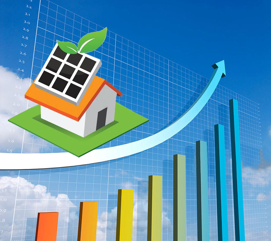 Solar home property value increase