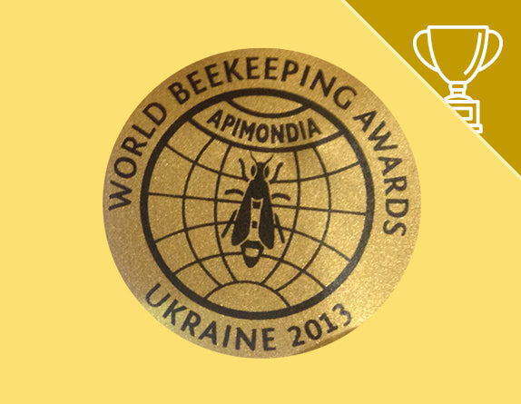 World Beekeeping Awards - Goldmedaille