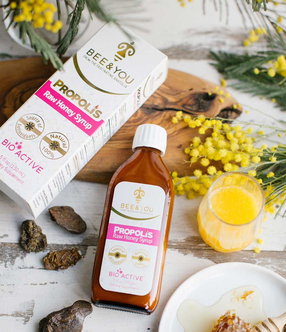 Propolis Honigsirup - Bee and You Deutschland