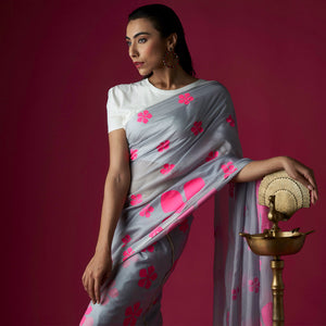 The Flower saree