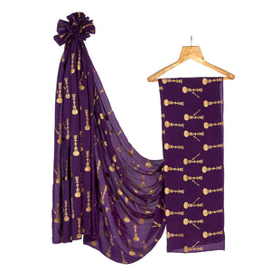 The Hookah saree