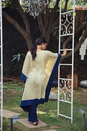 A GLIMPSE OF ELEGANCE KAFTAN SET - BEIGE