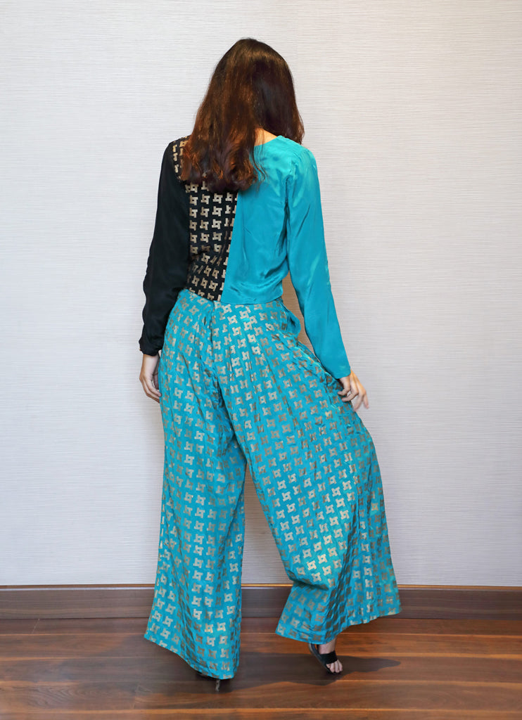 Green Maze Pants set