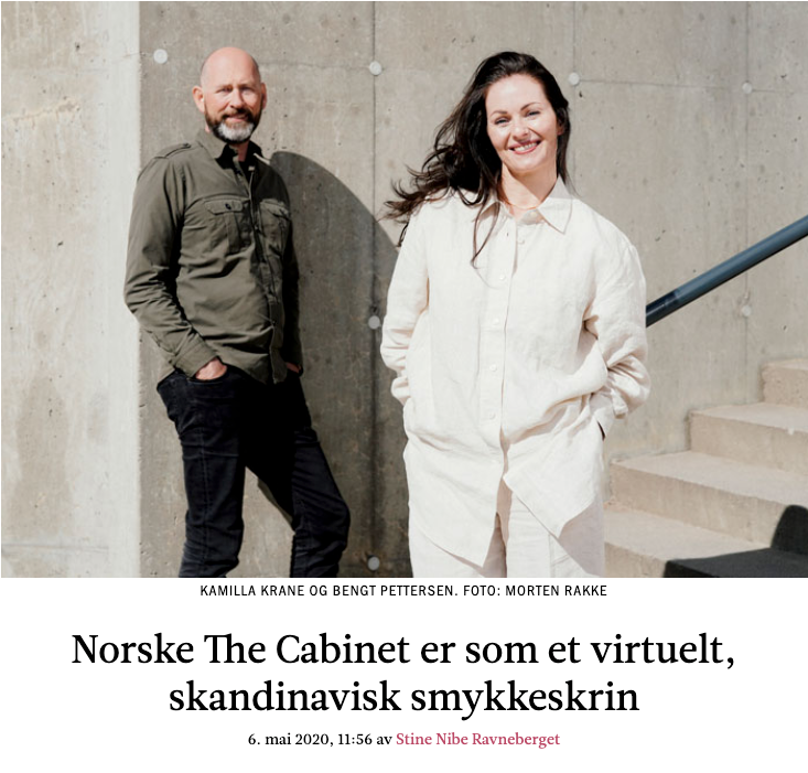 Kamilla Krane og Bengt Pettersen for The Cabinet