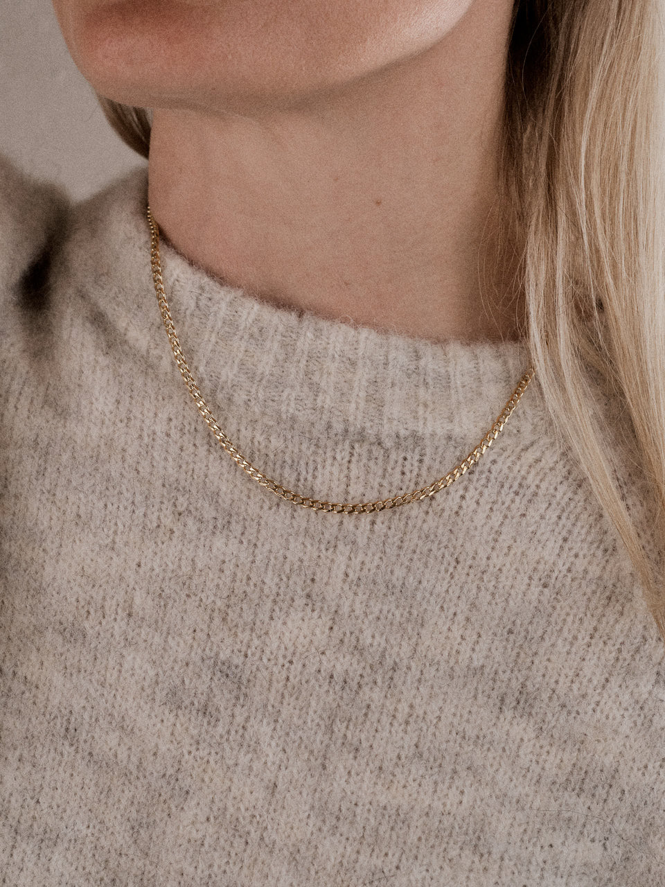 Maria Black / Saffi Necklace / Halskjede i gull