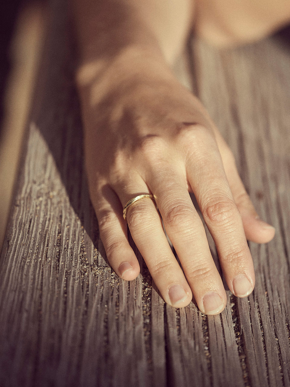 Bjørg Jewellery / Moon Plain Ring / Ring i gull