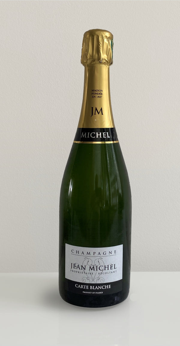 CHAMPAGNE JEAN MICHEL CARTE BLANCHE NV 750ML