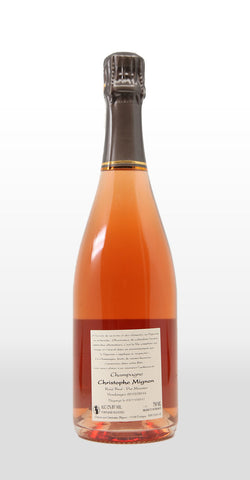 CHRISTOPHE MIGNON ROSE BRUT PUR MEUNIER NV 750ML
