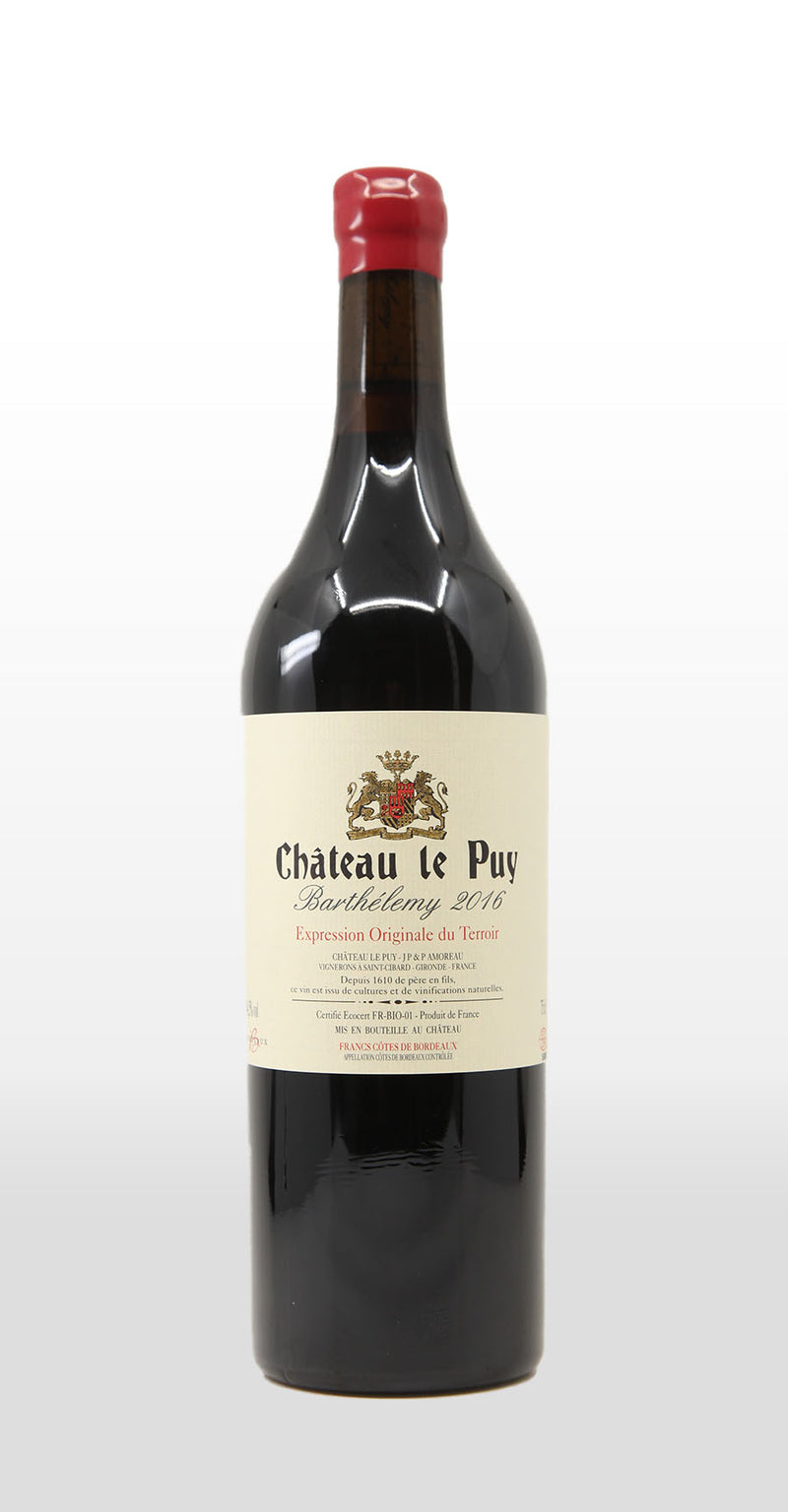 CHATEAU LE PUY BARTHELEMY 2016 750ML