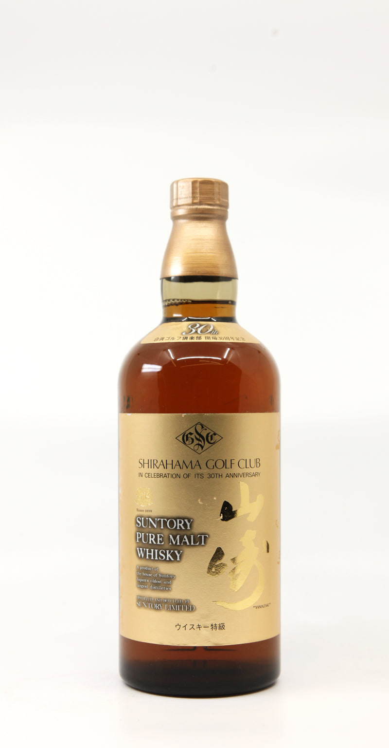 SUNTORY YAMAZAKI PURE MALT SHIRAHAMA GOLF CLUB 30TH ANNIVERSARY 70CL
