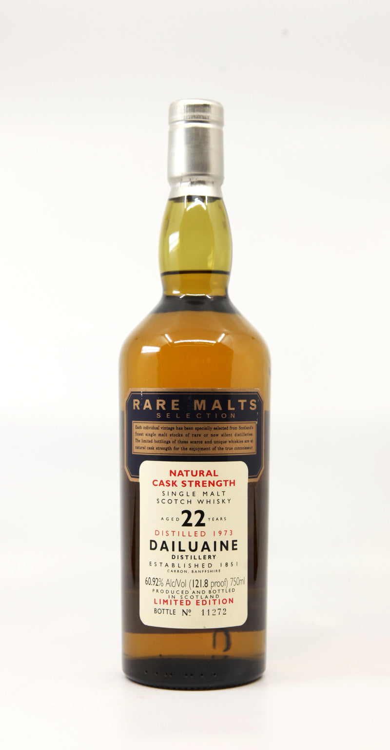 DAILUAINE 1973 22 YEARS RARE MALT SELECTIONS NATURAL CASK STRENGTH 70CL