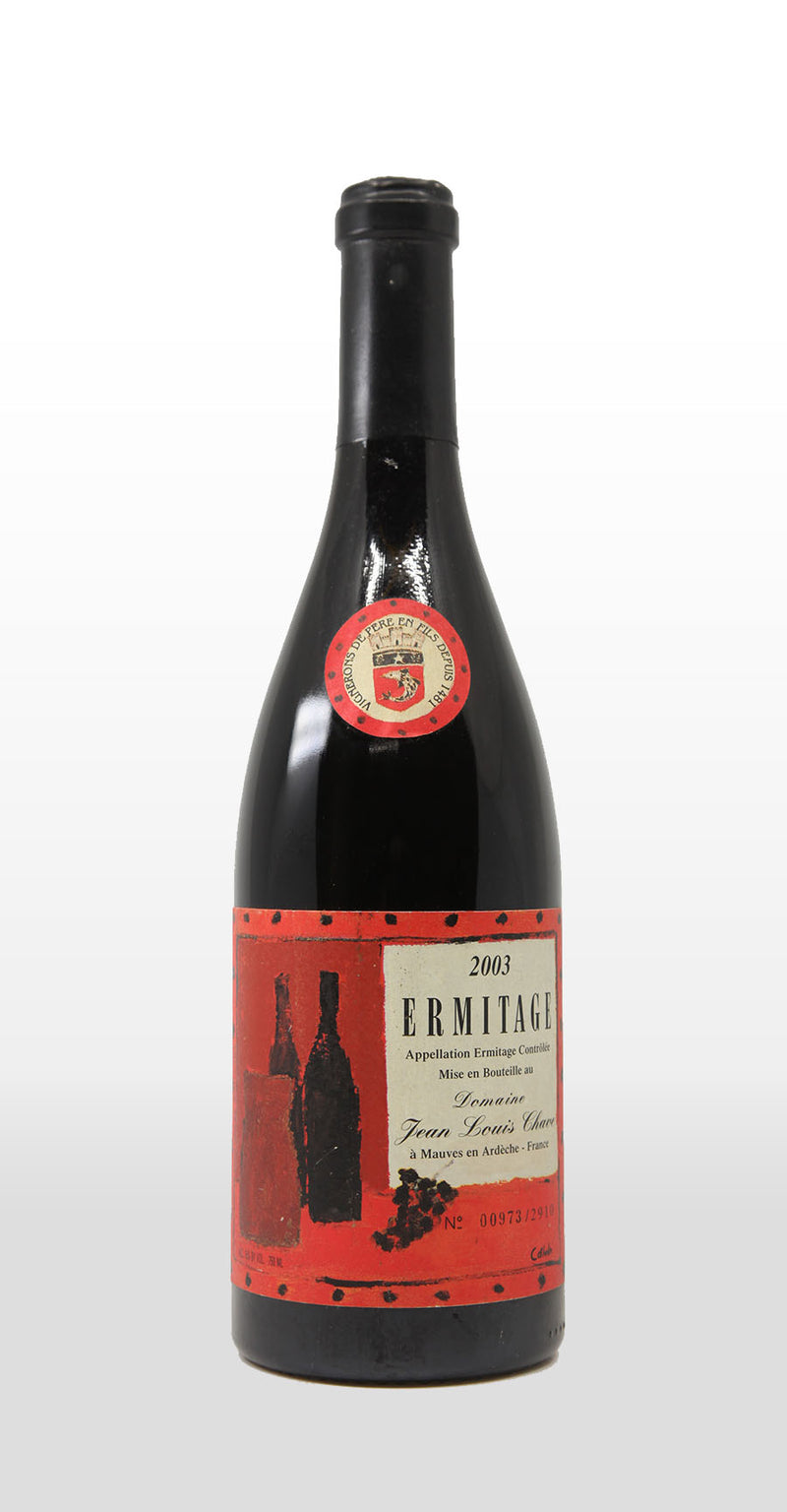 JEAN-LOUIS CHAVE HERMITAGE CUVEE CATHELIN 2003 750ML