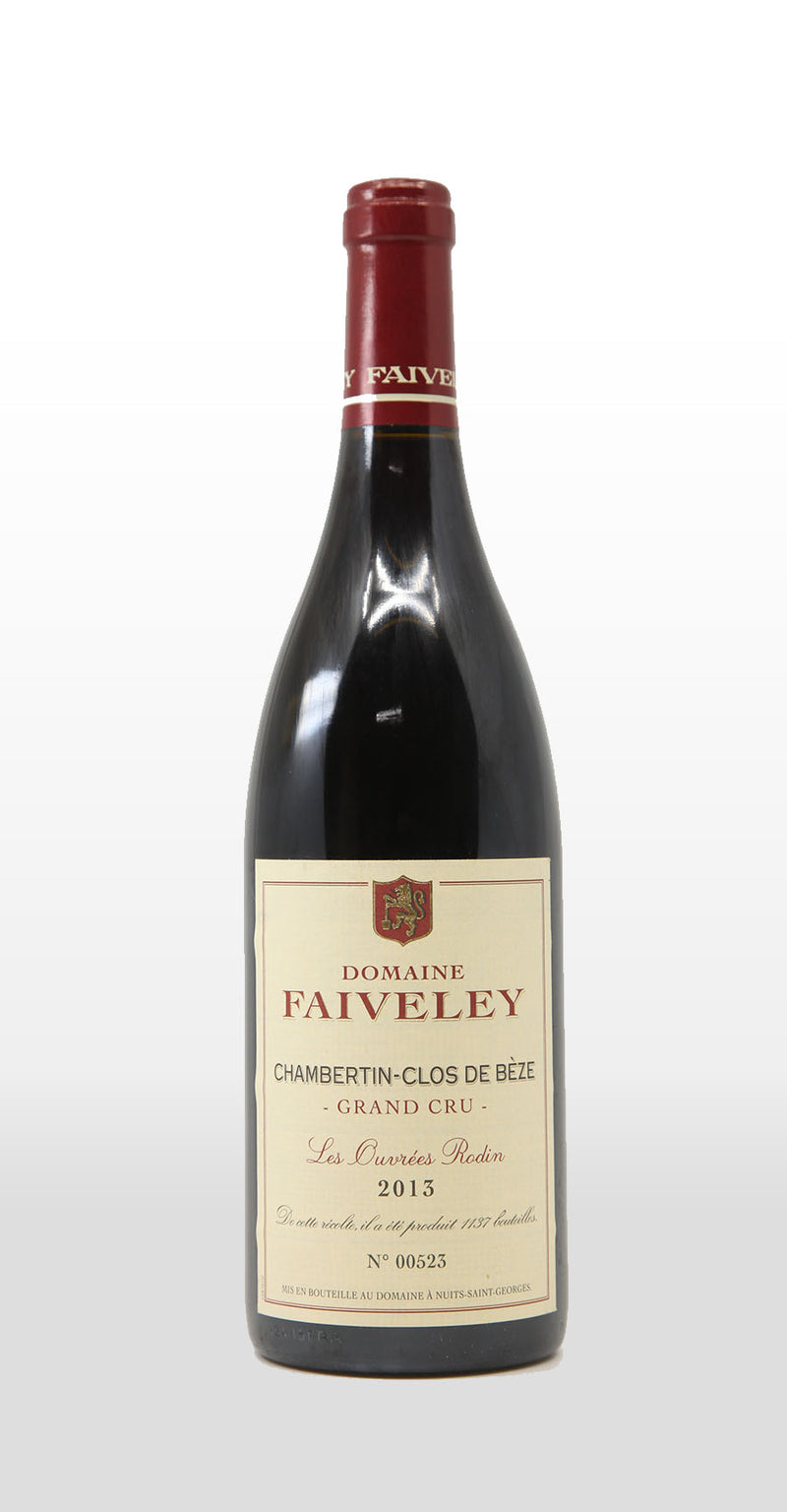 FAIVELEY CHAMBERTIN-CLOS DE BEZE GRAND CRU LES OUVREES RODIN 2013 750ML