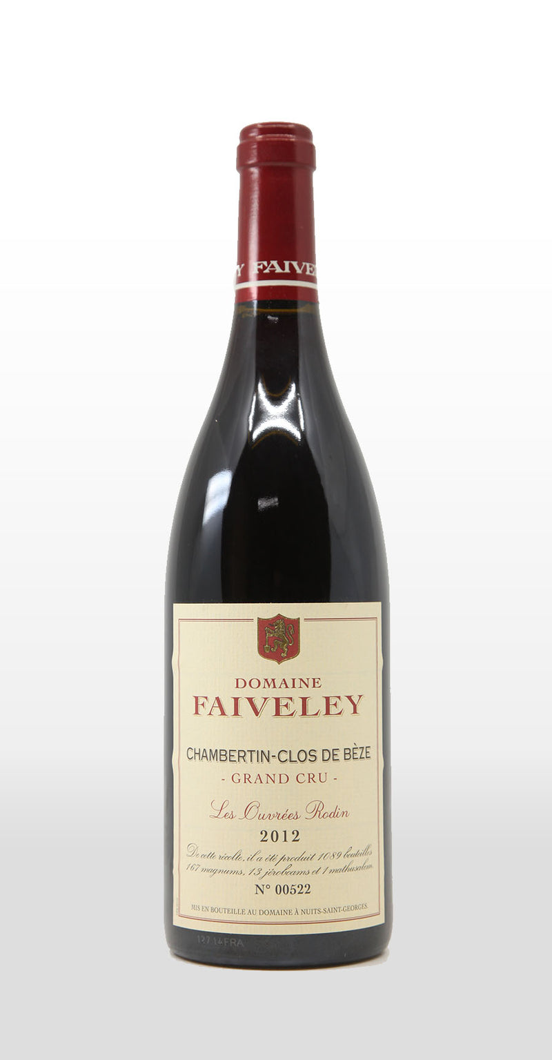FAIVELEY CHAMBERTIN-CLOS DE BEZE GRAND CRU LES OUVREES RODIN 2012 750ML