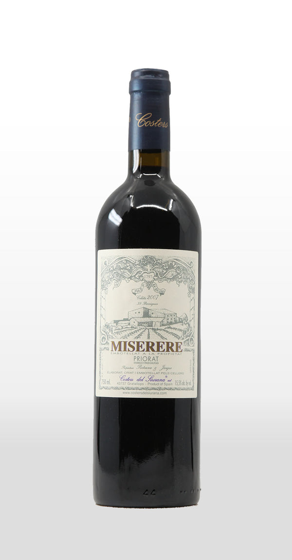 COSTERS DEL SIURANA PRIORAT DOQ MISERERE 2007 750ML