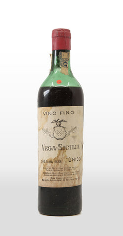 VEGA SICILIA UNICO 1938 (LOW SHOULDER) 750ML
