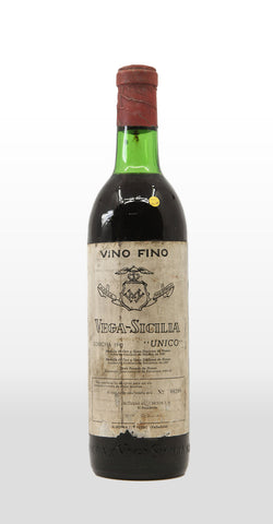 VEGA SICILIA UNICO 1941 (TOP SHOULDER) 750ML