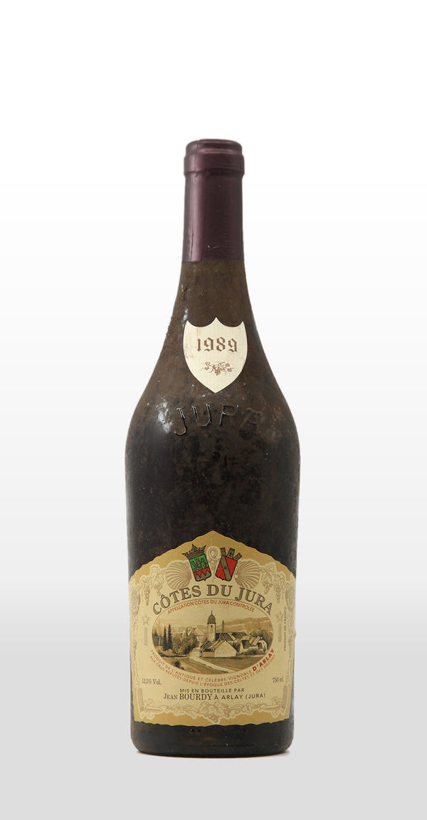 JEAN BOURDY COTES DU JURA ROUGE 1989 750ML