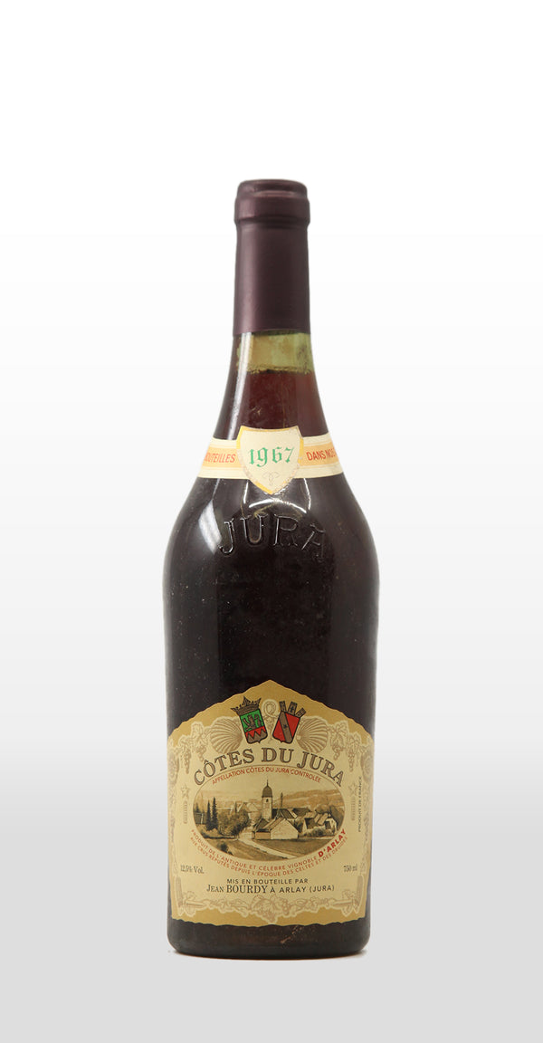 JEAN BOURDY COTES DU JURA ROUGE 1967 750ML
