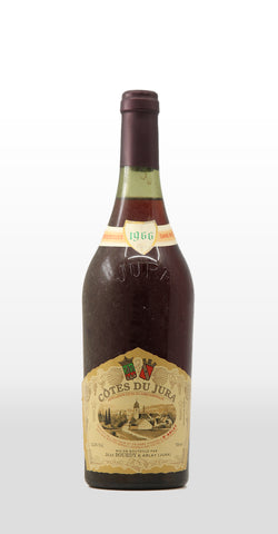JEAN BOURDY COTES DU JURA ROUGE 1966 750ML