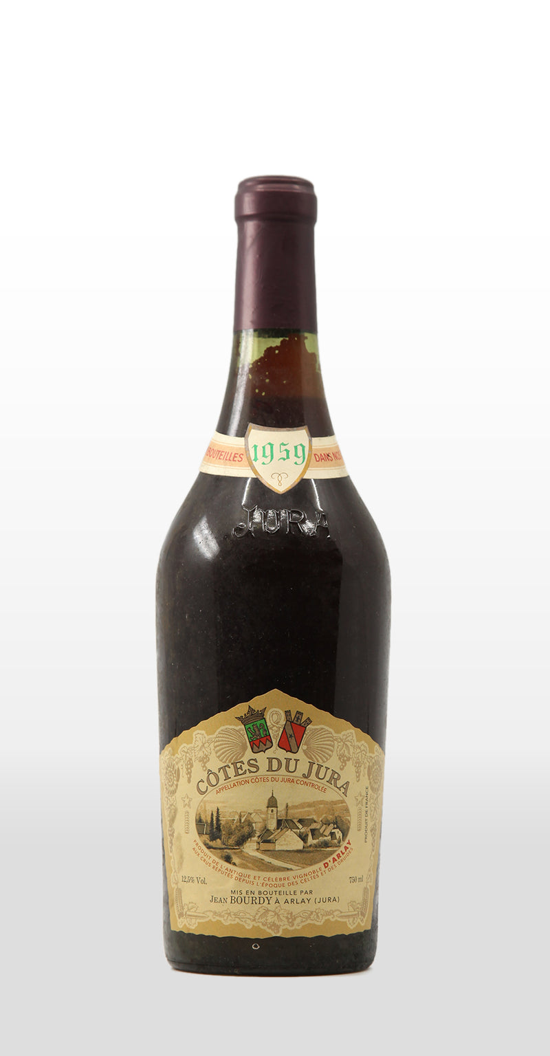 JEAN BOURDY COTES DU JURA ROUGE 1959 750ML