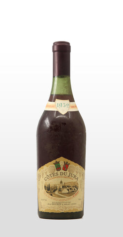 JEAN BOURDY COTES DU JURA ROUGE 1952 750ML
